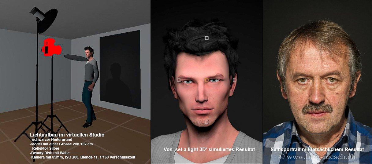 Vergleich Simulation und Praxis