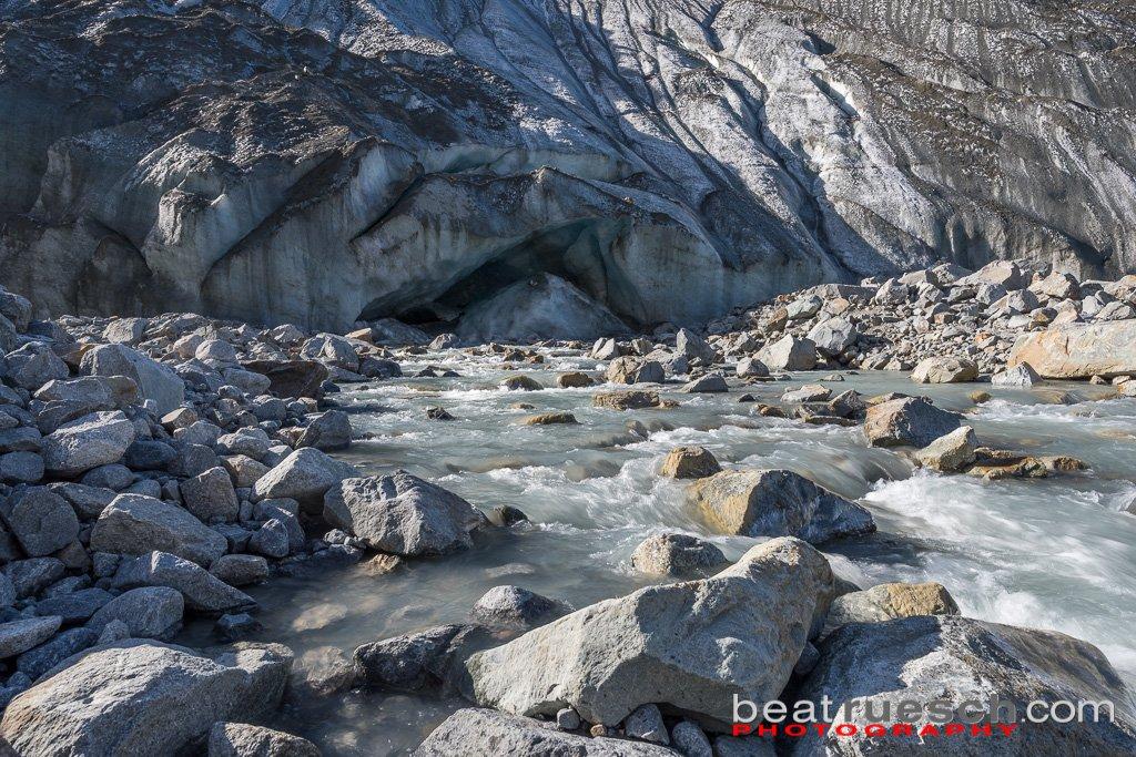 Beim Morteratsch Gletschertor