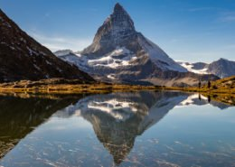 Matterhorn beim Riffelsee