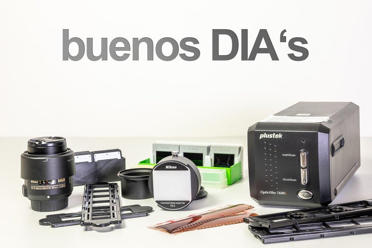 DIA's und Negative digitalisieren mit dem Nikon ES-2