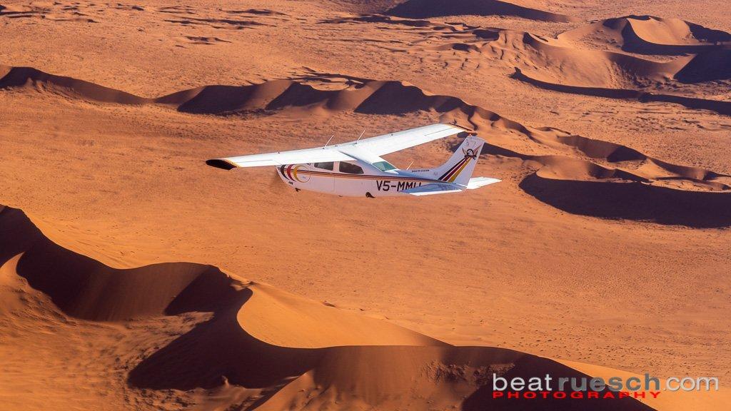 Rundflug über die Namib Wüste