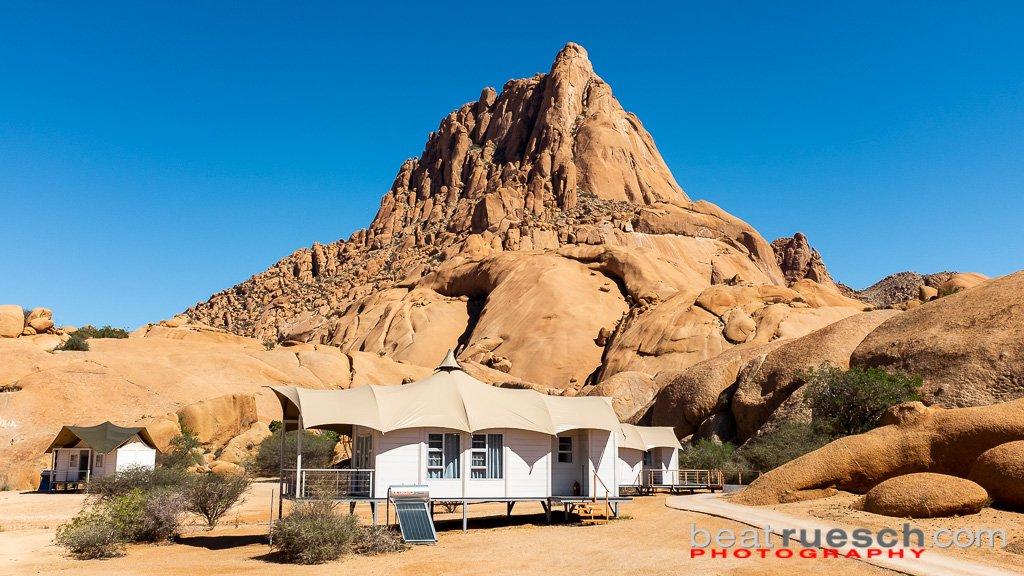 Unsere Unterkunft - Spitzkoppe Lodge