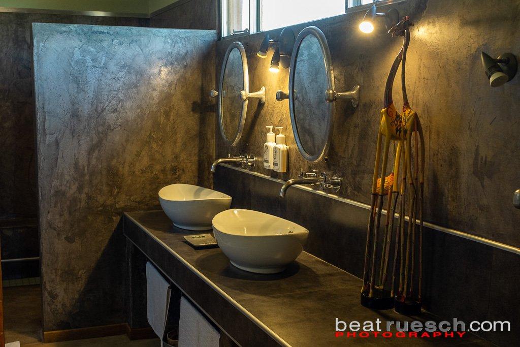 Badezimmer in der Unterkunft