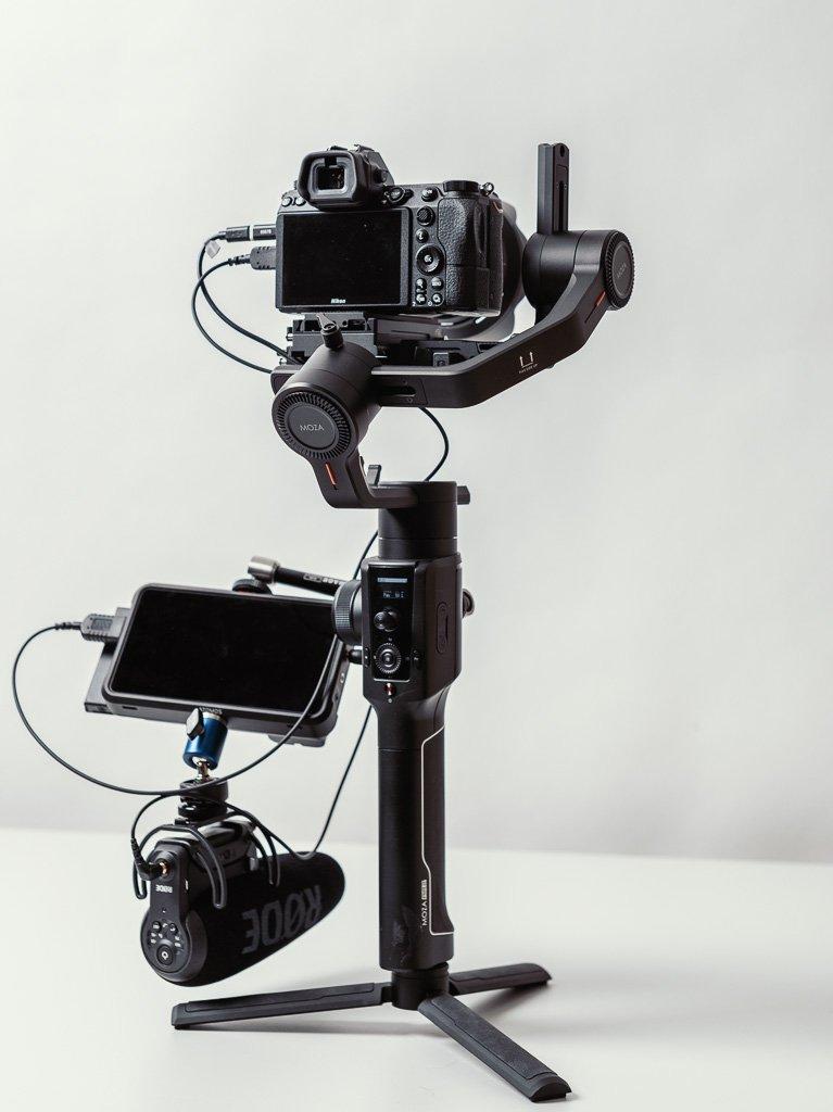 Filmmaker Kit zusammengebaut