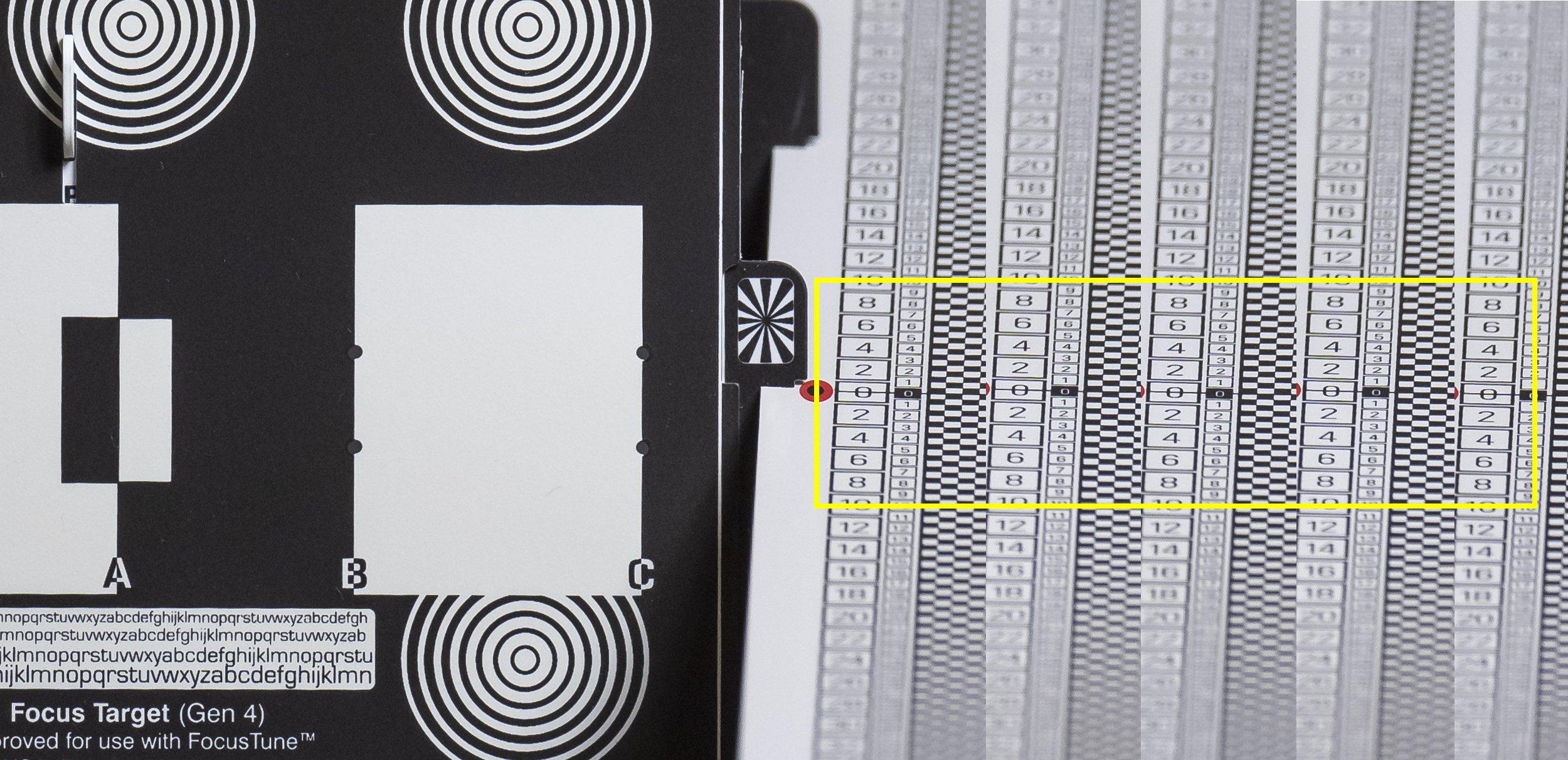 Z7 mit AF-S NIKKOR 500mm 1:5,6E PF ED VR - 5 RAW Bilder nebeneinander - kein Front- oder Back-Fokus!