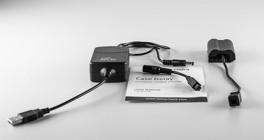 Case Relay von Tether Tools mit Nikon Power Connector EP-5B