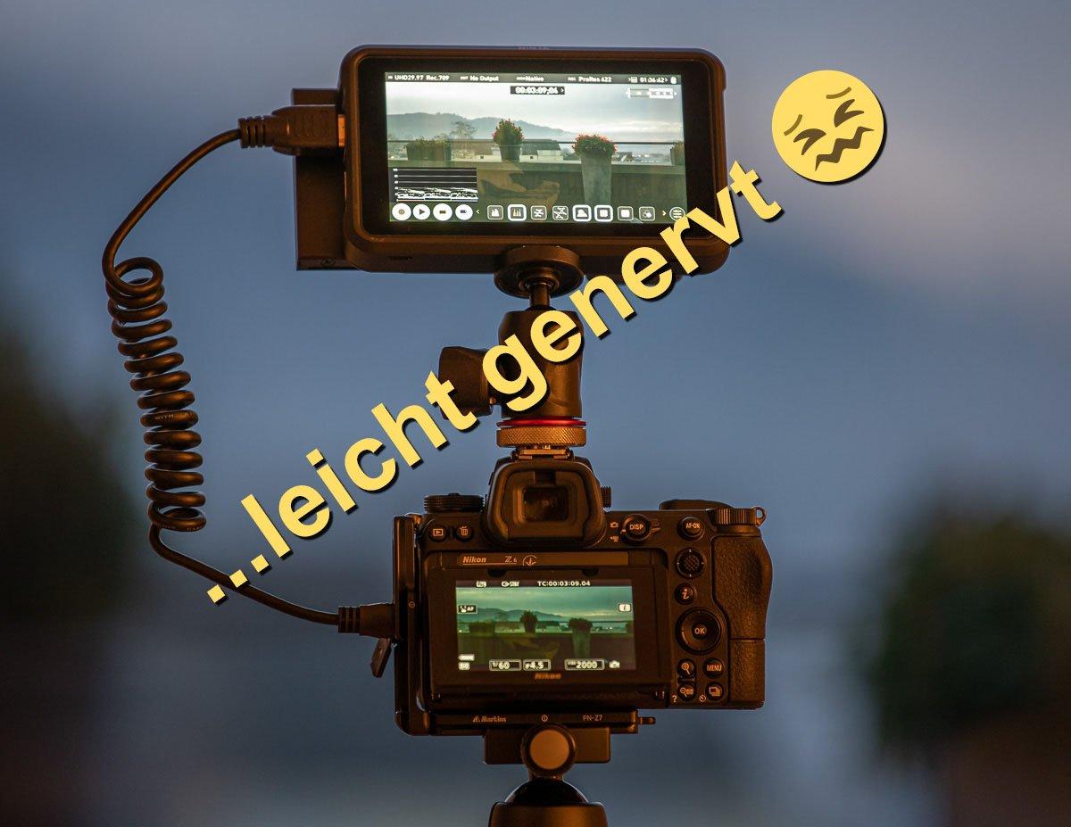 Nikon Z-Kameras mit Atomos Ninja V und ProRes RAW