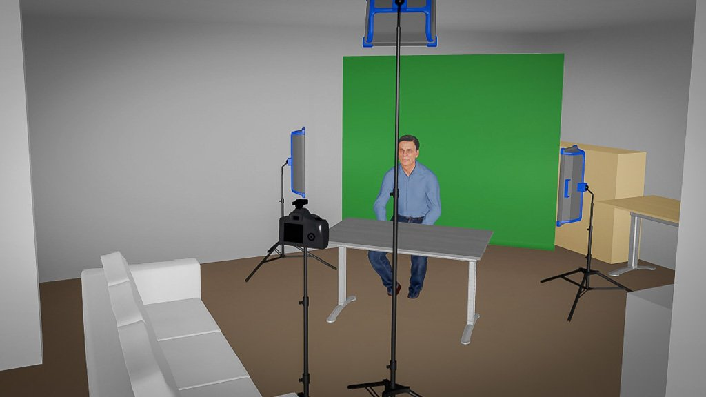 200926 MeinVideostudio GreenScreen