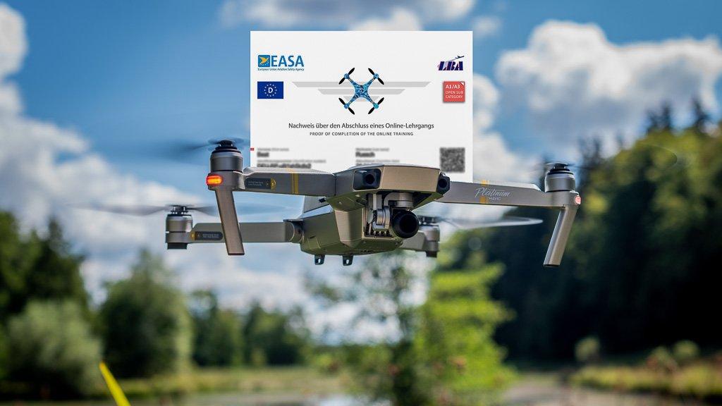 210429 Drohne mit Fuehereschein