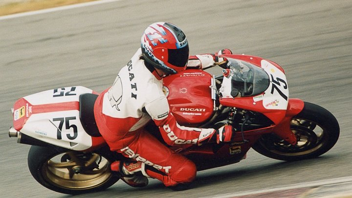Racing for Fun mit der Ducati 916