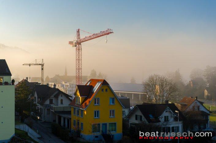 Der Nebel verzieht sich